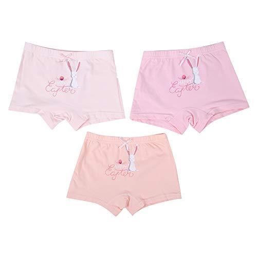 3-pak baby meisjes ondergoed kinderen broekjes kleine kinderen mooie katoenen slips teens multipack boyshorts Undies XX-Large Haas