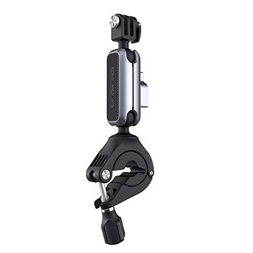 PGYTECH Manillar de Cámara de Acción Montaje en Motocicleta Bicicleta para Gopro/Insta360/DJI OSMO Pocket 2/OSMO Pocket/OSMO Action