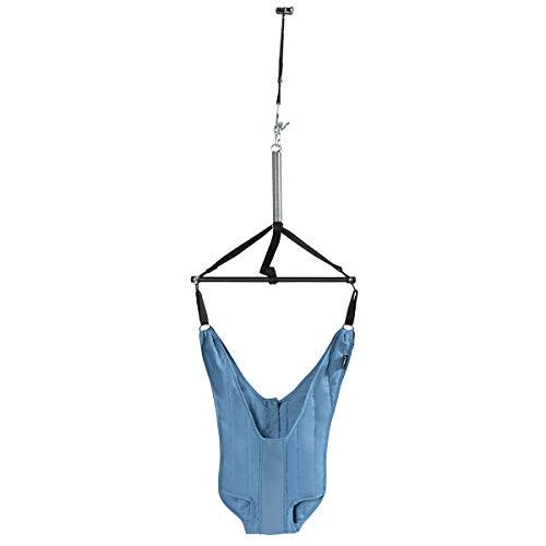 COSTWAY Saltador de Puerta para Bebé Longitud Ajustable Saltador con Clip para Puerta para Niños Pequeños de 6-12 Meses