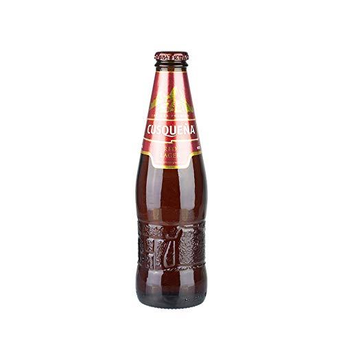Peruanisches Bier, Cerveza de los Incas, 5% vol, Flasche 330ml. - Cerveza Premium CUSQUEÑA Red Lager, 330ml