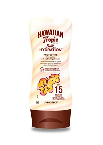 Hawaiian Tropic SILK HYDRATION LOTION SPF 15, Lozione - 180 ml