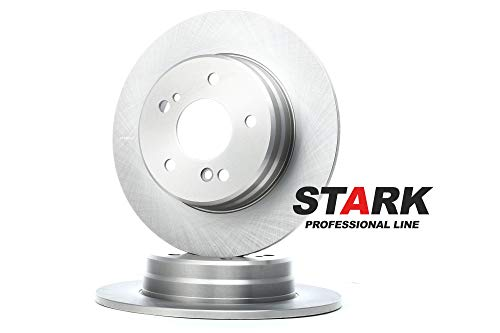 STARK SKBD-0022836 Bremsscheibe Scheibenbremsen, Bremsscheiben Hinten (x2)