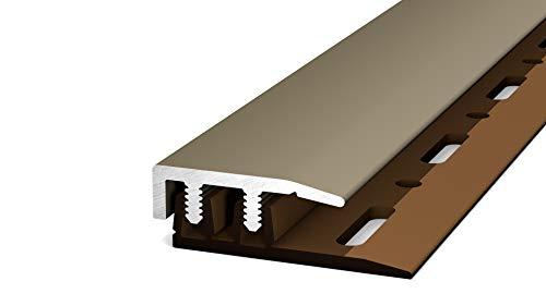 Prinz Profi-Design Abschlussprofil 90cm (havanna/edelstahloptik matt (neue Bezeichnung))
