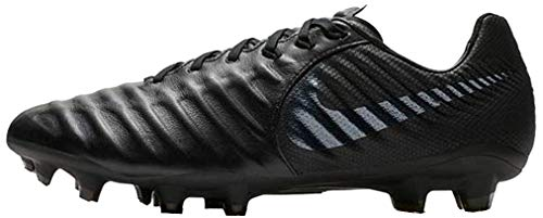 Nike Herren Fußballschuh Legend VII Pro FG Fitnessschuhe, Schwarz (Black/Black 001), 42 EU