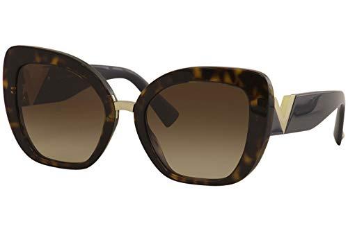 Valentino Gafas de sol VA4057 500213 la habana brown tamaño de 54 mm de gafas de sol de las mujeres