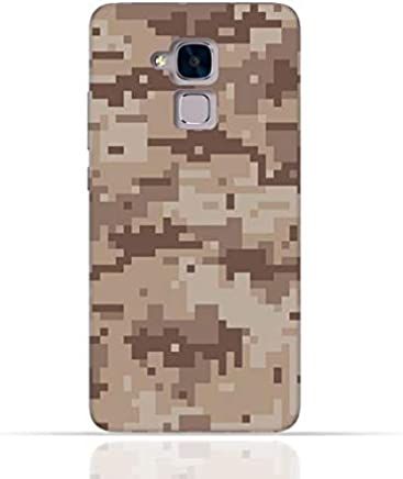 Huawei 5C / Huawei Honor 7 Lite/Huawei GT3 TPU Silicone Case with Desert Military Camouflage Design