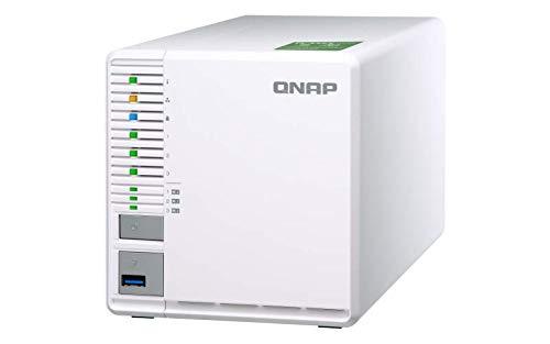 QNAP TS-332X-4G 3 Bay Desktop-NAS-Gehäuse mit 4 GB RAM