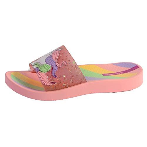 Ipanema Unisex-Kinder URBAN Slide Kids Flipflop, Pink/Pink Glitter, 31 EU