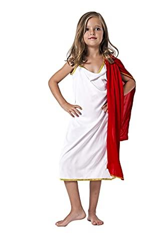 Juguetutto - Disfraz romana para niñas (10-12 años)