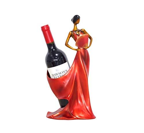 FDGH Botella Individual Estante De Vino Mostrador De Mostrador Sala De Estar Vinoteca Decoraciones para El Hogar Delicado