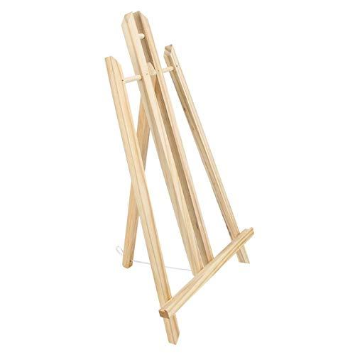 Caballete de madera de haya, caballete de madera Tableta de mesa Caballete...