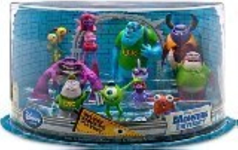 Disney   Pixar Monsters University Exclusive 10 Piece Deluxe PVC Figurine Playset by Monsters University