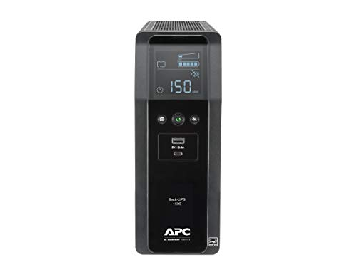 APC 1500VA Battery Backup with LCD