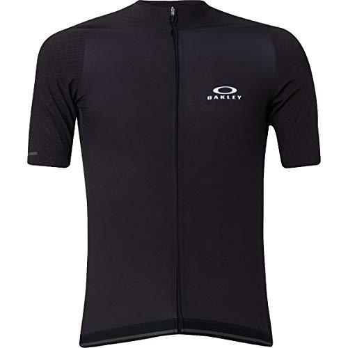 Oakley Aero 2.0 - Maglia da ciclismo da uomo, Uomo, Oscurante., Large