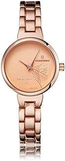 ساعة نسائية انالوج من جياردينو، بسوار برونزي ومينا برونزية اللون موديل G0964RBR