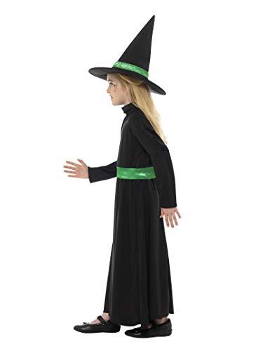 Smiffys Costume Strega Malvagia, Multicolore, 48008M
