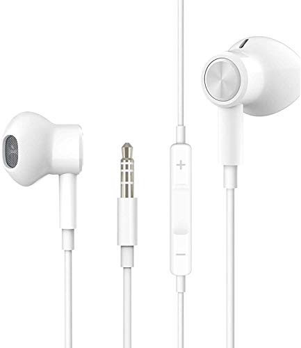 Hi-Res Extra Bass Earbuds Noise Isolating In-Ear Headphones Wired...