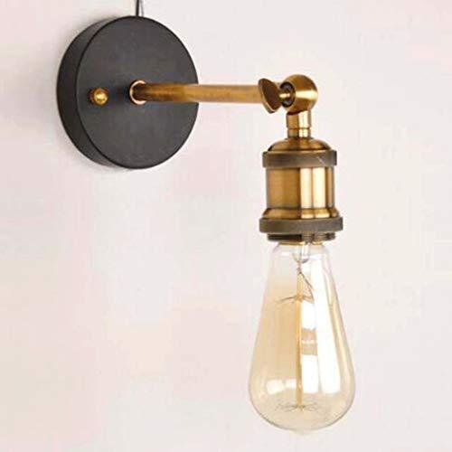Lámpara de Pared Accesorios de montaje industrial aplique de pared de luz de la vendimia con soporte E27 Lámpara de Restaurante Bar Cafetería Decoración