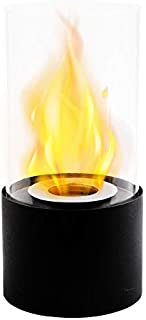 JHY Design Tabletop Fire Bowl Pot|Indoor/Outdoor Portable Tabletop Fireplace–Clean-Burning Bio Ethanol Ventless fire Pit