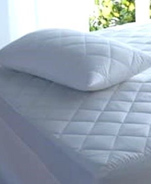 The Bettersleep Company Caravan Mattress Protector Waterproof Quilted (Island Bed)
