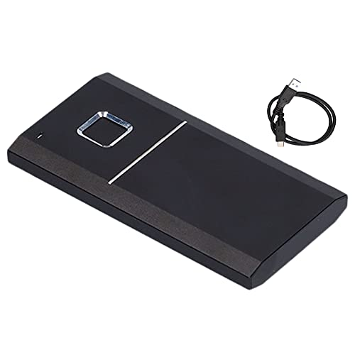 TOTHEBEACH Fingerprint Secure Executive SSD da 480 GB con Lettore di Impronte digitali 500 MB/s, USB SSD Esterno, Lettore di Impronte digitali, unità Solid State Drive Compatibile