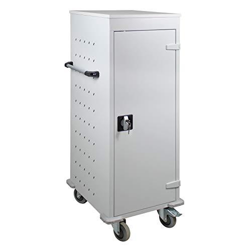 ADB Laptopwagen Notebook-wagen Tabletwagen Schließfach Rollwagen 1250x530x500 mm