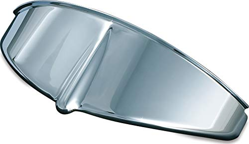 "Kuryakyn 2182 Motorcycle Lighting Accent Accessory: Headlight Visor for 7"" Headlights, Chrome"