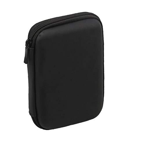 Sanfiyya Mini USB 3.0 / USB 2.0 de 1 TB de Disco Duro móvil Externo 301558 Compacto de Disco Duro portátil Caso Negro-Home Storage