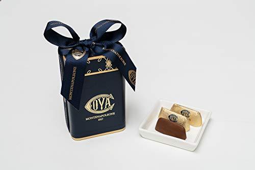 COVA MONTENAPOLEONE 1817(コヴァ モンテナポレオーネ) ジャンドゥイオッティ ブルーボックス チョコレート 母の日 父の日 贈答用 お礼 ギフト お菓子 高級 手提げ付き 150g
