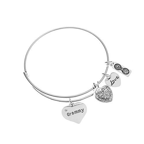 Infinity Collection Grammy Bracelet, Grammy Jewelry, Grandma Jewelry Makes Great Grandma Gifts