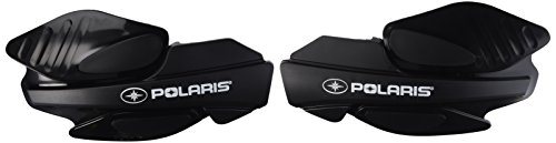 Polaris ATV Handguards in Black, 2 Pack