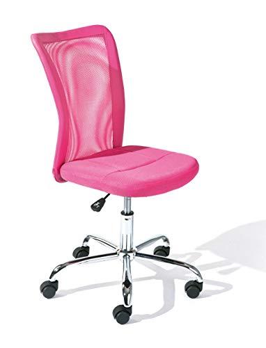 PKline Bürostuhl Bonan Kinder Pink Schreibtischstuhl Drehstuhl Sessel Chefsessel Büro