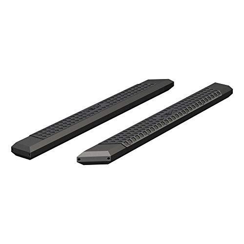 ARIES 2055975 AdvantEDGE Black Aluminum 75-Inch Truck Running Boards, Brackets Sold Separately