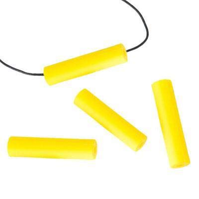 Chewigem - Robust, Multipurpose, Discreet, Chewable Necklace - Adapt for Hoody Strings - for Anxiety Reduction & Focus. Calming aid for Sensory Processing Difficulties - Autism - ADHD (Yellow)