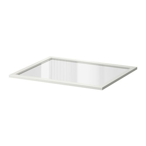 Ikea KOMPLEMENT Glaseinlegeboden in weiß; (75x58cm)
