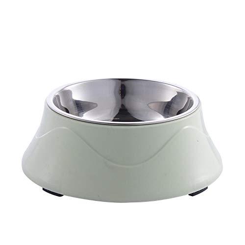 Hondenkom Kattenpot Roestvrijstalen hondenpot Huisdierpot Golvende kom groen_Zie de detailpagina voor de maat