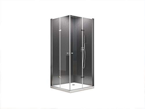BuyLando.Shop - Caroline - Hoekinstap Douchecabine - douche zonder douchebak - Variatie (80x80x195cm met douchebak & sifon)