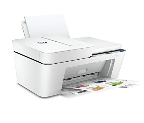 HP Deskjet 4123 Colour Printer, Scanner and Copier for Home/Small Office, Compact Size, Automatic Document Feeder, Send Mobile fax, Easy Set-up Through HP Smart App on Your Mobile