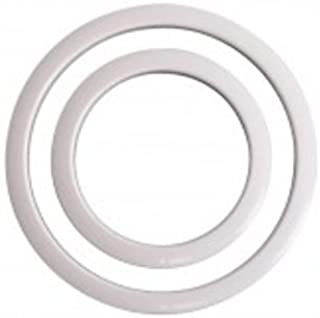 Gibraltar SC-GPHP-4W Port Hole Protector 4-Inch - White Finish