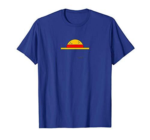 luffy's hat design one piece T-Shirt
