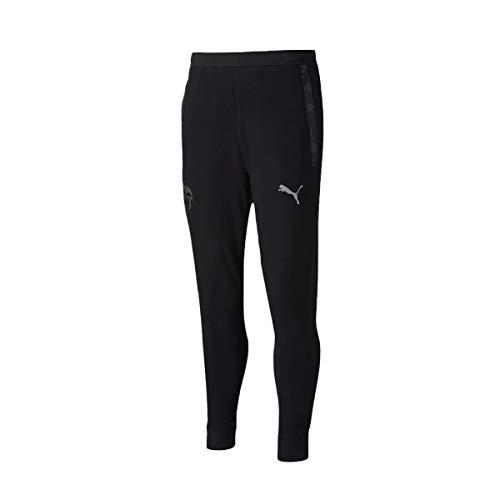 PUMA Valencia CF Temporada 2020/21-Casuals Sweat Pants Black-Smoke Pantalón, Unisex, Negro, M