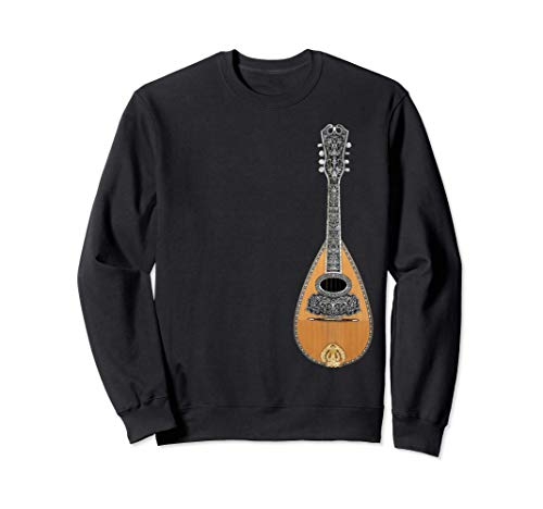 Instrument à cordes de mandoline Musique bluegrass Sweatshirt