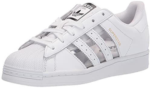 adidas Originals Superstar, Zapatillas Hombre, Bianco Colore Nero, 44 EU
