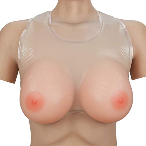 Vollence C Cup Strap on Silicone Breast Forms for Crossdresser