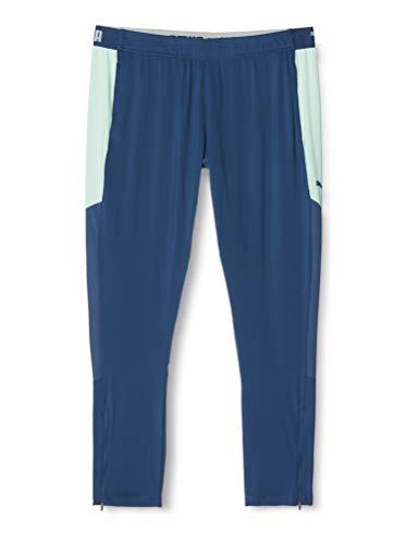 PUMA Damen ftblNXT Pants W Jogginghose, Dark Denim-Mist Green, L