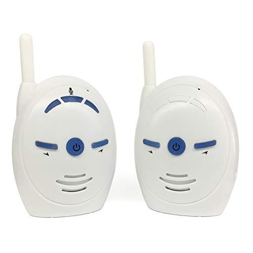 Monitor de audio digital para bebé de 2,4 GHz inalámbrico digital de audio intercomunicador de niñera monitor para la seguridad del bebé
