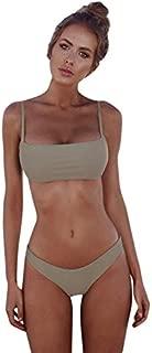 BEESCLOVER Hot Selling Women Bandeau Bandage Bikini Set Push-Up Swimsuit n Swimwear Beachwear Swimsuit