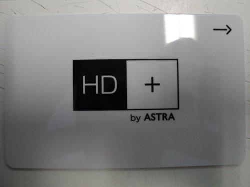 Astra HD+ Karte 12 Monate weisse Version 01 für RTL HD, Sat1 HD, ProSieben HD, VOX HD, geeignet für HD+ Receiver und Module