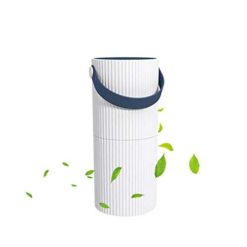 Luftreiniger zu Hause Ionisator USB Desktop Luftreiniger für Raucher Allergiker Mini tragbarer Luftreiniger Gegen Pollen Staub Rauch Gerüche für Büro Auto (Navy blau)