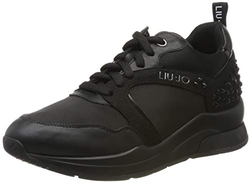 Liu Jo Shoes Damen Karlie 23 Sneaker, Schwarz (Black 22222), 41 EU